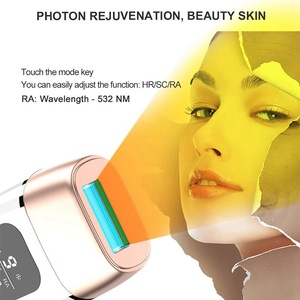 Image 2 - New LCD 4in1 600000pulsed IPL Laser Hair Removal Device Permanent Hair Removal IPL laser Epilator Armpit Hair Removal machine