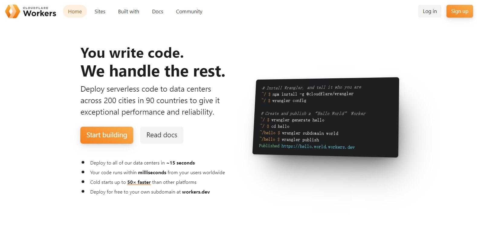 【教程】使用 CF-Worker-Dir 在 Cloudflare Worker 上免费搭建导航网站-木头人123小站