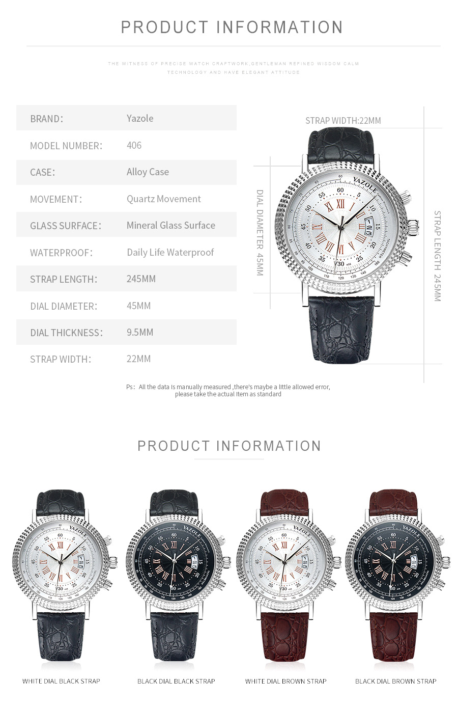 H4ef24f3e20a540a7af2a638889175abcG Luxury Business Men's Watches relogio masculino PU Leather Strap Hiqh Quality Dress Watch Men Classic Casual Quartz Male Clock