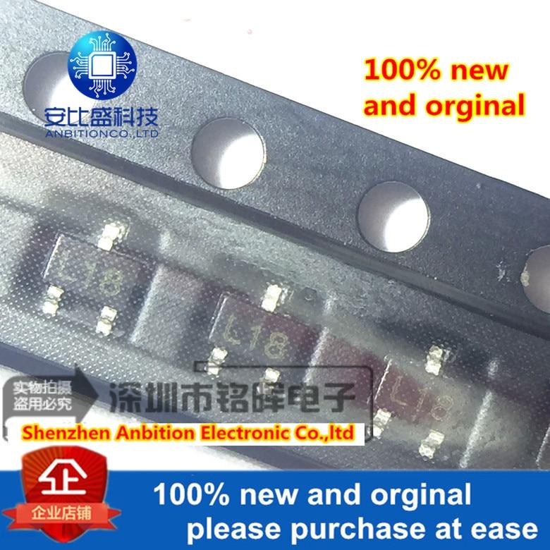 10pcs 100% New And Orginal 2SC4181 SOT-323 Silk-screen L18 In Stock