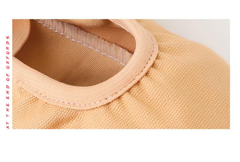一体帆布软底鞋免系带_13