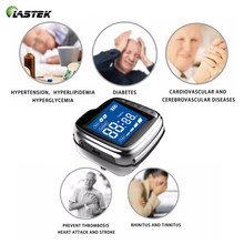 650nm Laser Medical Watch Home Use High Blood Pressure High Blood Fat Sugar for Diabetes Semiconductor Treatment CE Approved цена 2017
