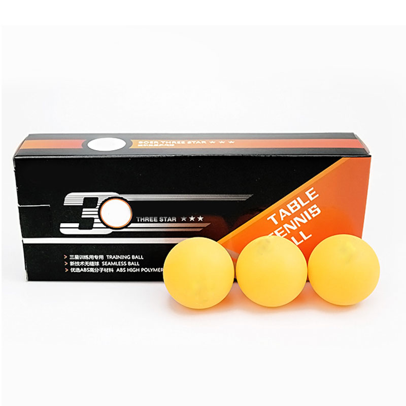 Hot Selling 10pcs Table Tennis Balls 3 Star 40+ ABS Plastic Ping Pong Balls Table Tennis Training Balls