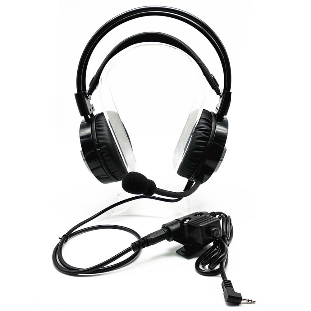 Talkie-walkie casque anti-bruit casque pour Motorola Talkabout Radio Portable TLKR T3 T4 T60 T80 MR350R
