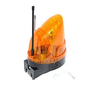 DC 24V-240V AC LED brama migające światło lampa alarmowa dla swing brama przesuwna otwieracz/bariera brama sygnał stroboskop migająca lampka