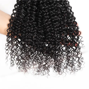 Rucycat Indian Kinky Curly Bundles With Closure 30 Inch Bundles 100% Human Hair Bundles With Closure No Shedding Remy Human Hair