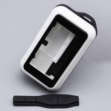 E90 caso chaveiro capa do corpo para starline e90 e91 e61 e60 sistema de alarme carro em dois sentidos lcd controle remoto chaveiro fob