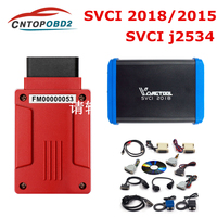 SVCI 2018 OBD2 Key programmer FVCI function of VVDI2 V2015 FVDI J2534 No Limited abrites commander for vag/bmw for Fo rd&Mazda
