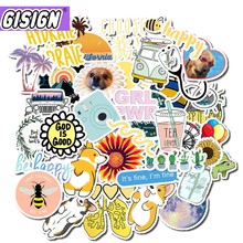 50Pcs Vsco Stickers Meisje Ding Cool Waterdichte Stickers Voor Skateboard Laptop Motorfiets Auto Pack Decal Anime Meisjes Stickers