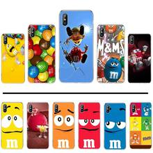 Cute M &M'S Chocolate Candy Coque Shell Phone Case For