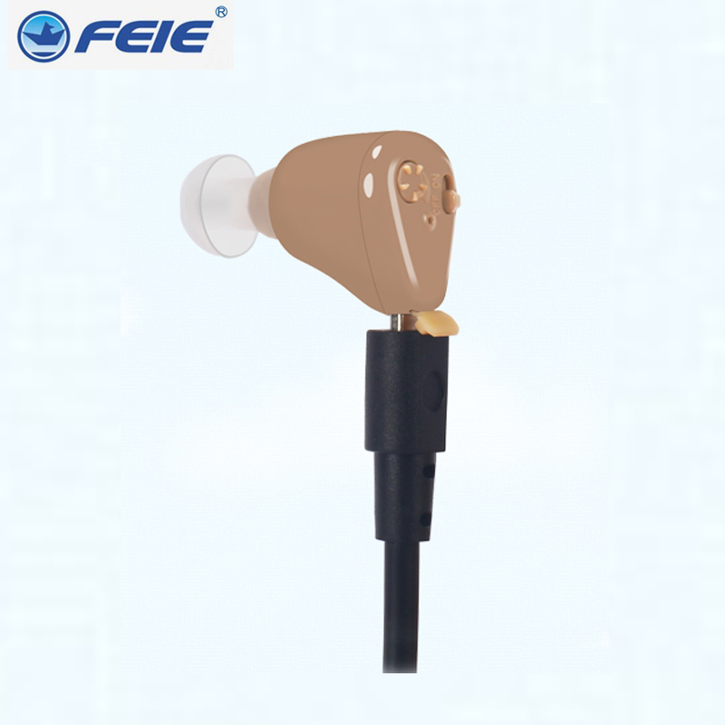 Invisible Aparat Mini Rechargeable Hearing Aids Deaf Ear Headset S 216 mini hearing device sordos Old
