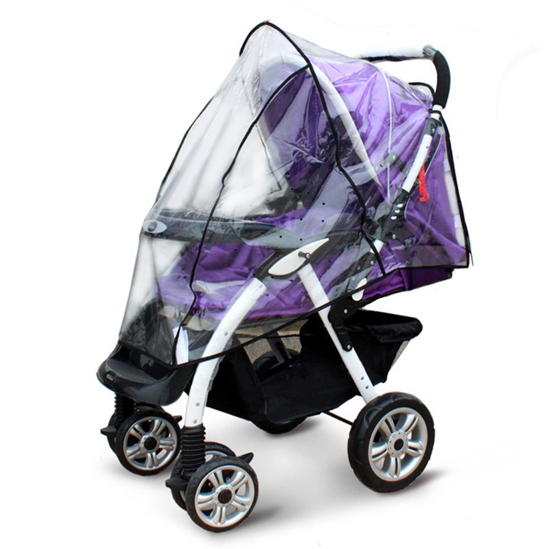 Baby Universal Pram Carry Cot Bassinet Rain Cover