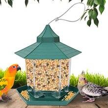 F # janela de vidro transparente visualização pássaro alimentador hotel mesa semente amendoim pendurado sucção alimentador adsorção tipo casa pássaro alimentador