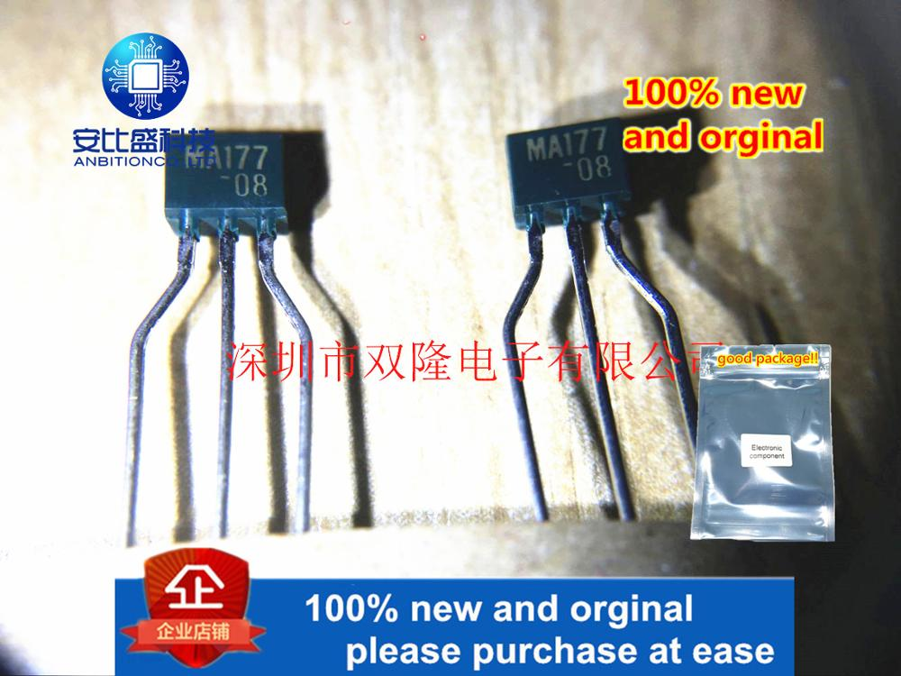 10pcs 100% New And Orginal MA177 TO92S In Stock