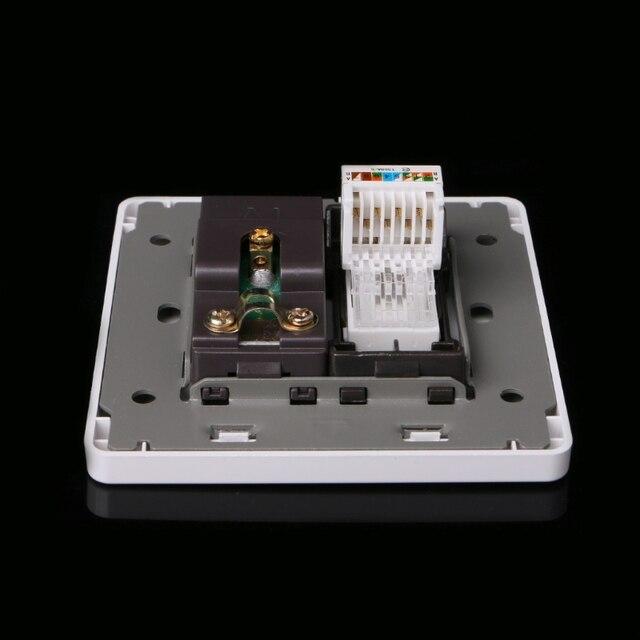 электрическая rj45 сетевая тв антенна розетка настенное крепление фотография