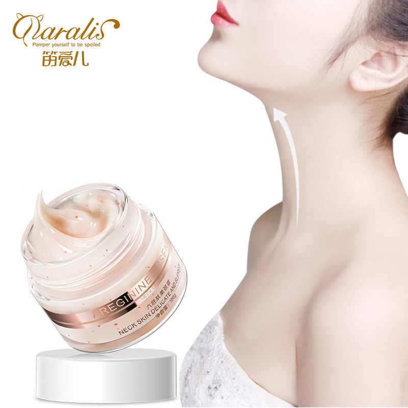 Daralis 100g seis peptides anti rugas pescoço creme branqueamento levantamento máscara endurecimento para pescoço cuidados com a pele delicado e escorregadio