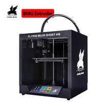 Envío Gratis 2019 Popular Flyingbear-Ghost4S 3d impresora marco de metal completo 3d impresora diy kit con pantalla táctil de Color