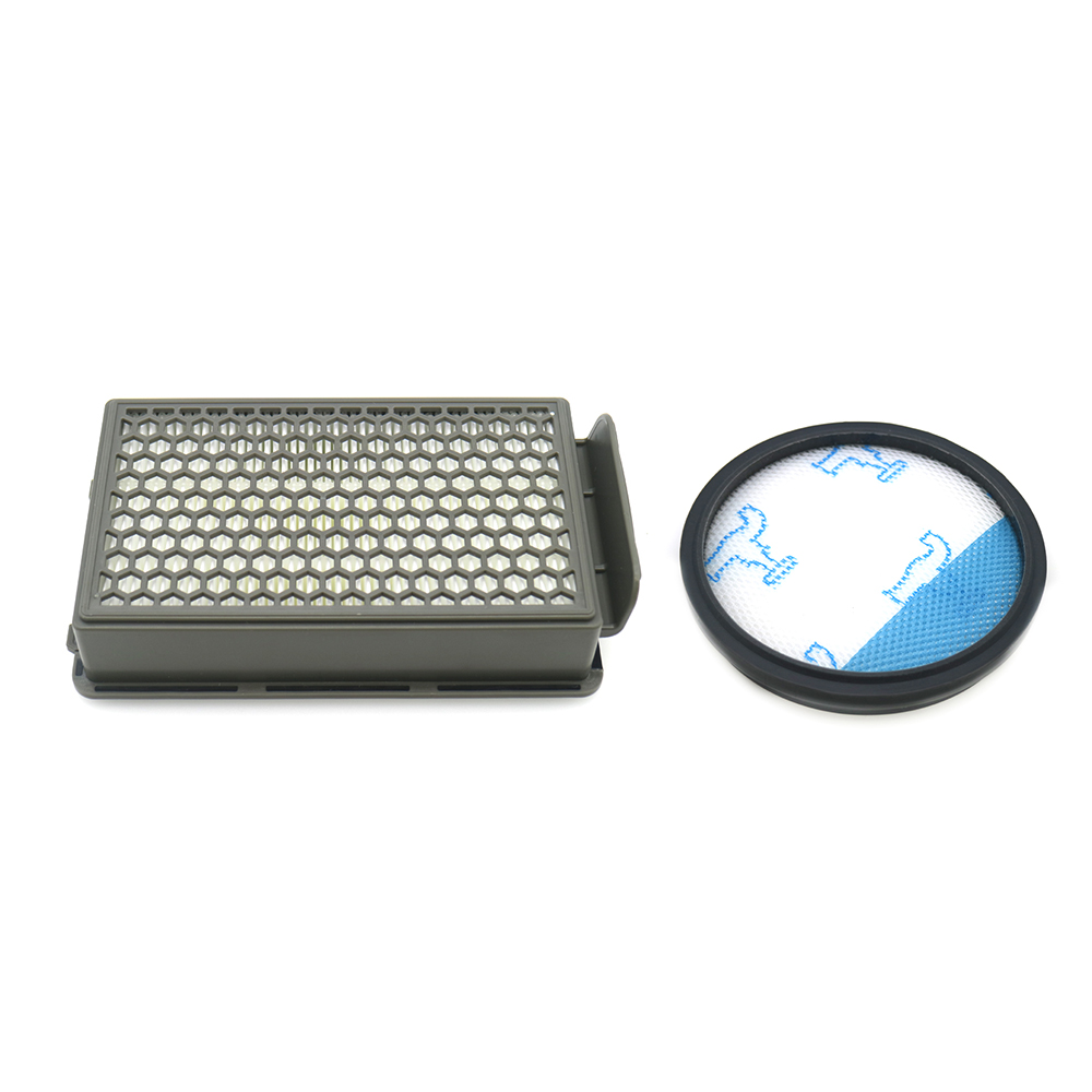 2pcs/lot Filter Kit For Rowenta HEPA RO3715 RO3759 RO3798 RO3799 Vacuum Cleaner Parts Kit Compact Power Accessories