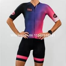 TRES Pinas ropa ciclismo mujer de manga corta especializados MTB Ciclismo jersey bicicleta de carretera juego pro ciclismo Uniforme Conjunto Ciclismo