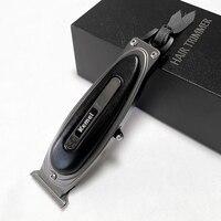 Original LCD Display Leistungsstarke Barber Shop Haar Trimmer für Männer Elektrische Bart Trimmer Wiederaufladbare Clipper Haar Schneiden Maschine