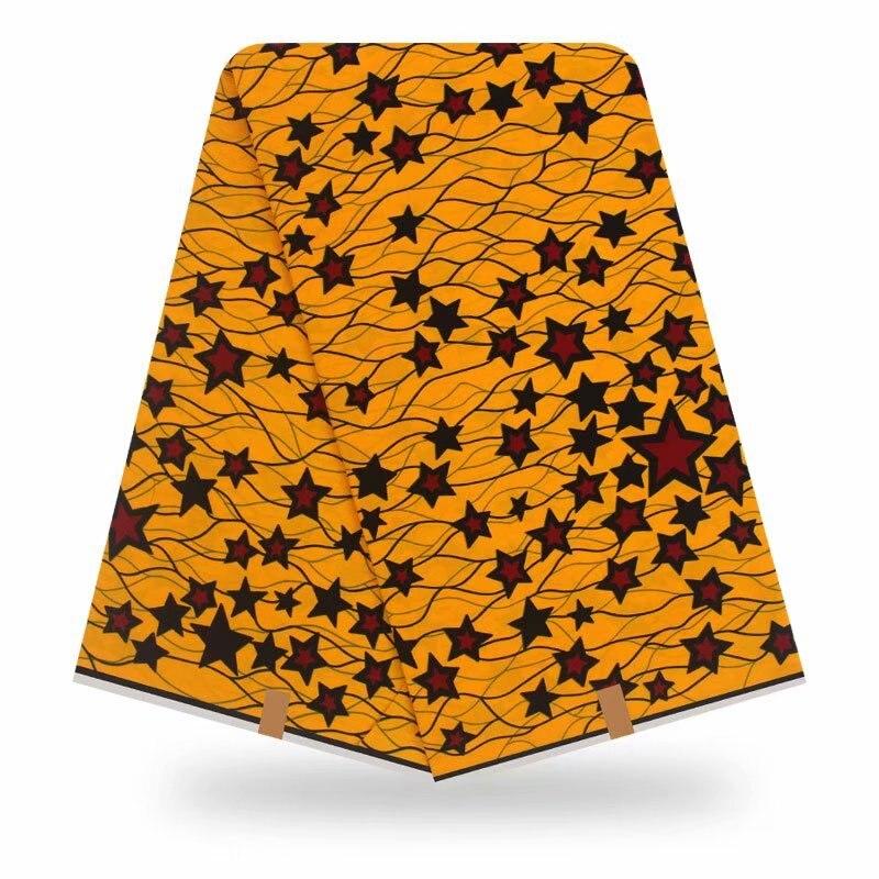 nigerian real dutch african print fabric 6 yards of African fabric African wax prints fabric for dress