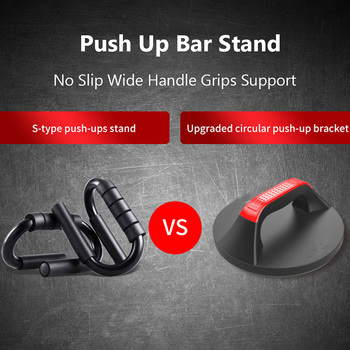 360°Push Up Stands Non Slip Push-up Rack Board Crossfit Exercise Push Up Bars Bracket Fitness Equipment for Home Gym Workout 4