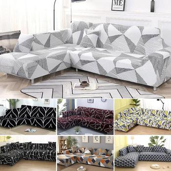 2016 rushed sectional sofa design u shape sofa 7 seater lounge couch good quality cheap price leather sofa Dh- Elastic Sofa Cover Slipcovers L-shape Sofa Covers For Living Room Spandex Cheap Sectional Couch Cover 1/2/3/4 Seat Stretch
