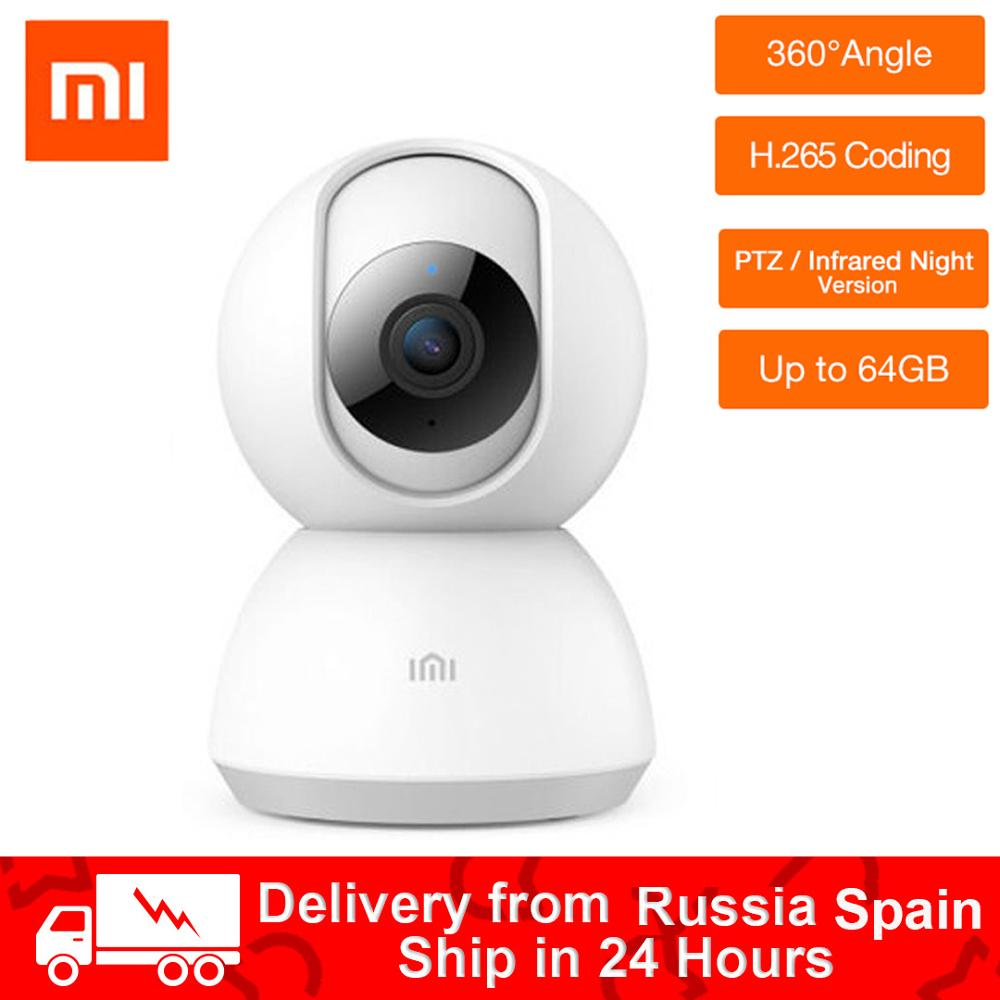 Xiaomi Chuangmi Mijia 1080P Smart Camera 360 Angle IP Cam PTZ Webcam Camcorder Video CCTV WIFI Wireless Night Vision Baby View