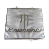 카와사키 ZX14R ZZR1400 GTR1400 용 오토바이 라디에이터 그릴 가드 커버 보호대 팬커버 자동차 및 오토바이 -