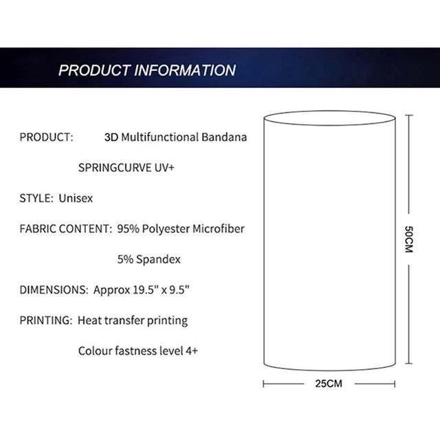 Solid Color Multi-function Seamless Quick-drying Visor Anti-sweat Belt Hair Bandana Camera Protective 3