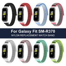 Nylon Replacement Wristband For Samsung Galaxy Fit SM-R370 Sports Watch Wrist Band Strap Smart Bracelet Accessories