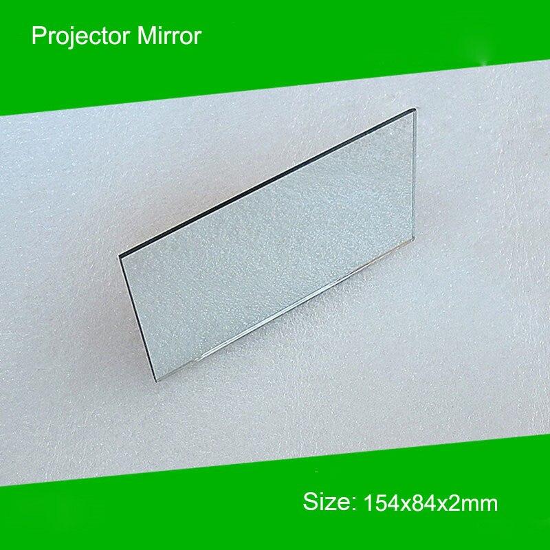1 Piece 154*84*2mm Mini Projector Diy Reflector Projector Mirror Accessory For ViviBright GP90 Projector