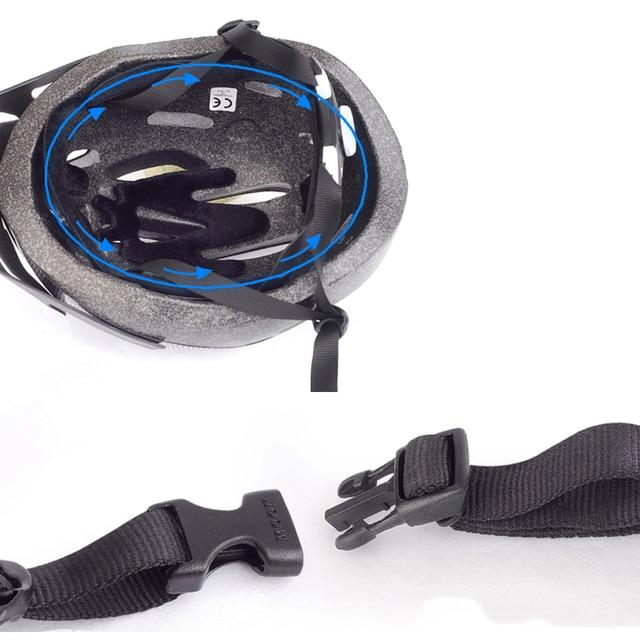 Lua criança equilíbrio capacete da bicicleta pc + eps respirável crianças ciclismo capacete de estrada montanha mtb capacete 260g tamanho m/l 5
