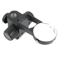 76mm Diameter Zoom Stere Microscopen Verstelbare Scherpstellen Beugel Focus Houder Voor Tinocular Microscoop Binoculaire Microscoop