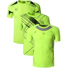 Jeansian 3 Pack Mens Tshirt T-Shirt Tee Shirt Sport Dry Fit Short Sleeve Running Fitness Workout LSL133-3225-3209-GreenYellow