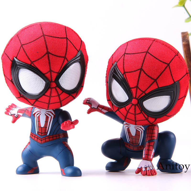 hot-toys-font-b-marvel-b-font-action-figure-spider-man-the-spiderman-q-version-mini-collection-model-toys