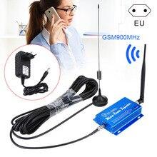 2G 3g 4G GSM 900MHz усилитель сигнала мобильного телефона повторитель ЕС вилка GV99