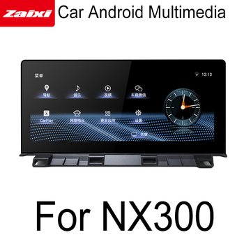 ZaiXi Car Android original style For Lexus NX 300 NX 200t 2018-2019 GPS Navigation radio stereo multimedia player touch screen