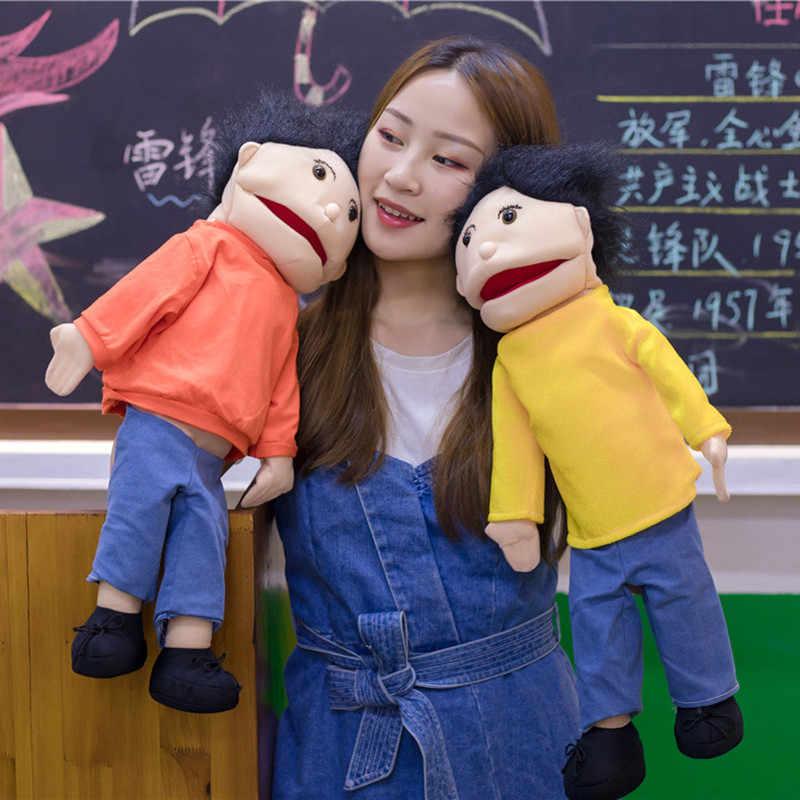 Grote Abdominale Handpop Grote Poppen Doek Puppets Zachte Gevulde Pulip Poppen Suprise Scary Poppen Heks Kinderen Verjaardagscadeau