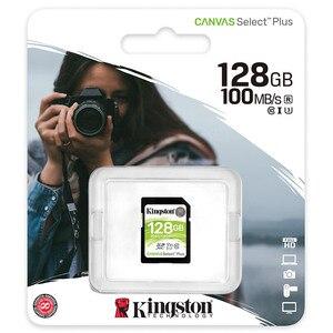 Image 5 - Kingston carte SD, 128 go, SDXC, classe 10, pour appareil photo Canon, Nikon, Sony