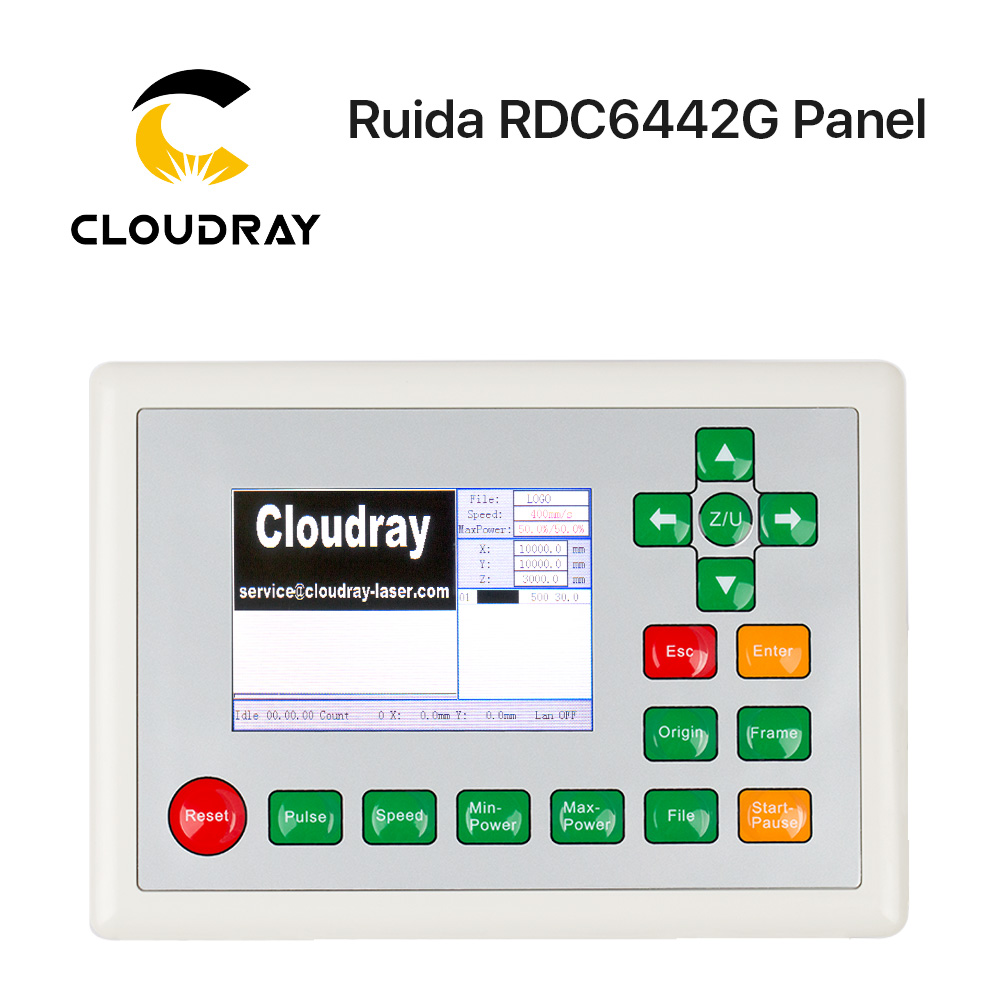 Cloudray Ruida CO2 Laser DSP Controller RD RDC6442G for CO2 Laser Engraving and Cutting Machine (Buy More Discounts)