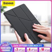 Смарт чехол Baseus для iPad 10,2 дюймов 2019 7th Gen легкий Чехол подставка для iPad 10,2 дюймов с функцией автоматического сна полная защита