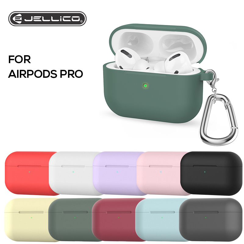 Jellico Silicone Case For Apple Airpods Pro Cover TWS Bluetooth Earphone Soft Case For Airpods 3 019 Protective Shockproof Cases