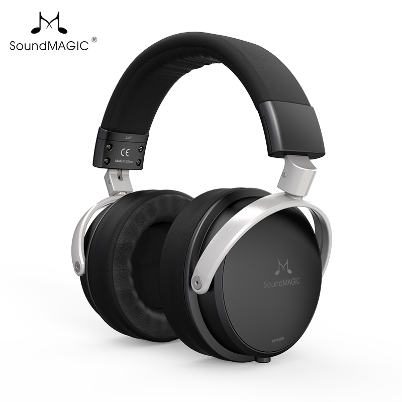 SoundMAGIC HP1000 Headphone closed back headphones 53mm dynamic drivers hifi sound image