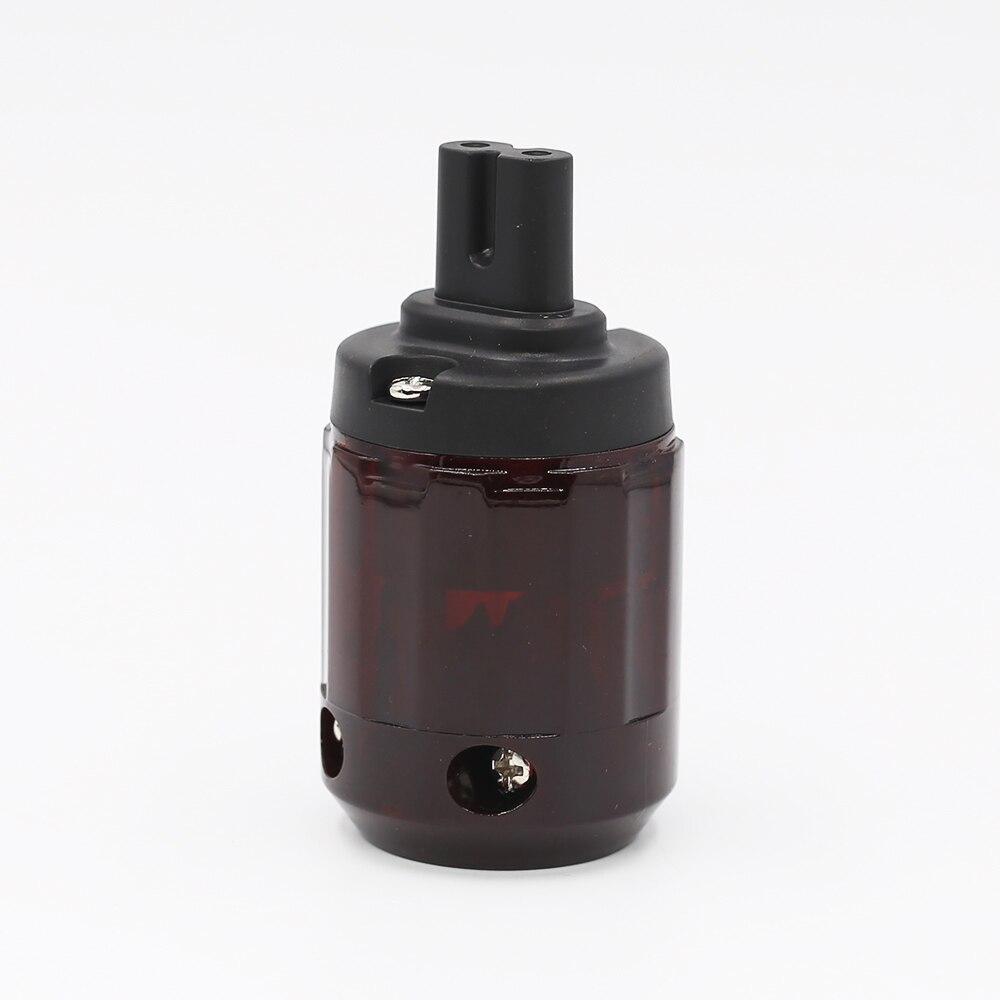 Uds Hifi C-079 de la figura 8 IEC C7 enchufe de Audio Cable de alimentación IEC toma eléctrico hembra conector adaptador Enchufe europeo, GSM, enchufe inteligente, inglés, ruso, SMS, Control remoto, interruptor de sincronización, controlador de temperatura con Sensor, enchufe de toma de corriente