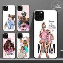 Чехол super mom для iphone 11 pro max чехол девочек малышей