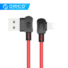 ORICO USB Cable For iPhone Apple X 8 7 6 5 6S plus Cable Fast Charging Cable Mobile Phone Charger Cord Adapter USB Data Cable(China)