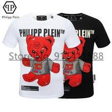 Philipp – T-shirt à manches courtes et chaud, décontracté, de marque américaine, rose diamant