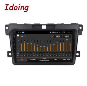 Image 2 - Idoing 2.5d ips tela do carro android rádio leitor de vídeo multimídia para MazdaCX 7 cx 7 cx7 4g + 64g navegação gps não 2 din dvd 4g