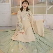 Traje tradicional chino para mujer, ropa de Hanfu para mujer, vestido de princesa de la diosa Han, novedad